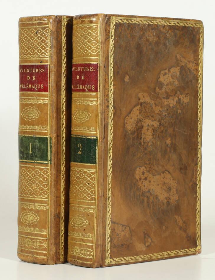 Les aventures de Télémaque, fils d Ulysse - 1805 - 2 volumes - 25 figures - Photo 0, livre ancien du XIXe siècle