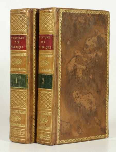 Les aventures de Télémaque, fils d'Ulysse - 1805 - 2 volumes - 25 figures - Photo 0, livre ancien du XIXe siècle