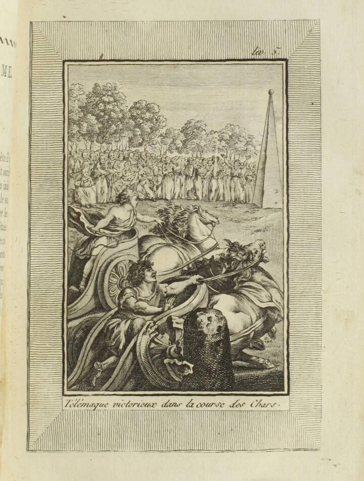 Les aventures de Télémaque, fils d Ulysse - 1805 - 2 volumes - 25 figures - Photo 1, livre ancien du XIXe siècle