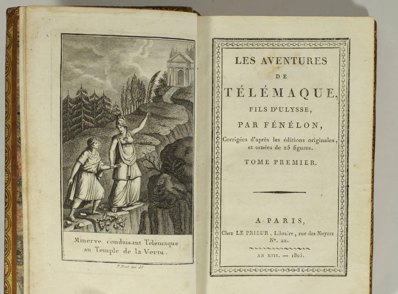 Les aventures de Télémaque, fils d Ulysse - 1805 - 2 volumes - 25 figures - Photo 3, livre ancien du XIXe siècle