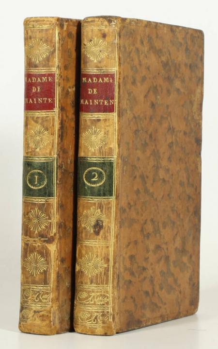 GENLIS (Mme de). Madame de Maintenon, pour servir de suite à l'histoire de me de la Vallière, livre ancien du XIXe siècle