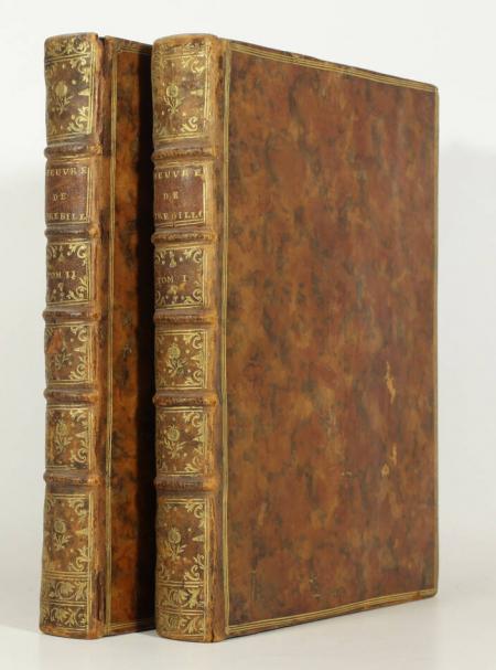 CREBILLON (Prosper Jolyot de). Oeuvres de M. de Crébillon, de l'Académie Françoise, livre ancien du XVIIIe siècle