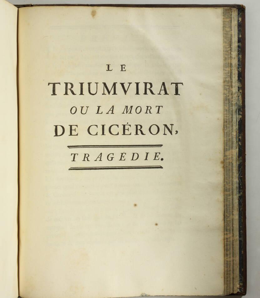 CREBILLON - Oeuvres - 1750 - 2 volumes in-4 - Figures d après Boucher - Photo 5, livre ancien du XVIIIe siècle