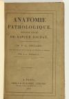 Anatomie pathologique. Dernier cours de Xavier BICHAT - 1825 - EO - Photo 4, livre rare du XIXe siècle