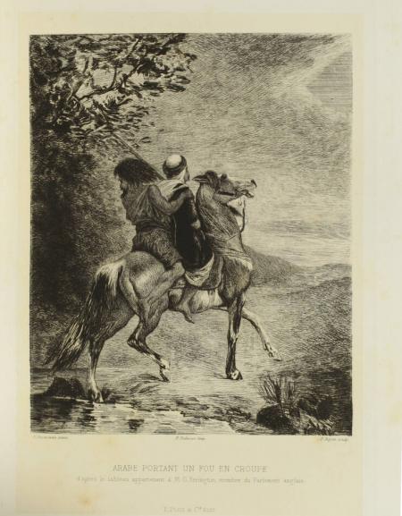 FROMENTIN (Eugène). Sahara et Sahel : I.- Un été dans le Sahara; II.- Une année dans le Sahel, livre rare du XIXe siècle