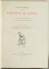 FROMENTIN - Sahara et Sahel - 1879 - Première édition illustrée - Gravures - Photo 2, livre rare du XIXe siècle