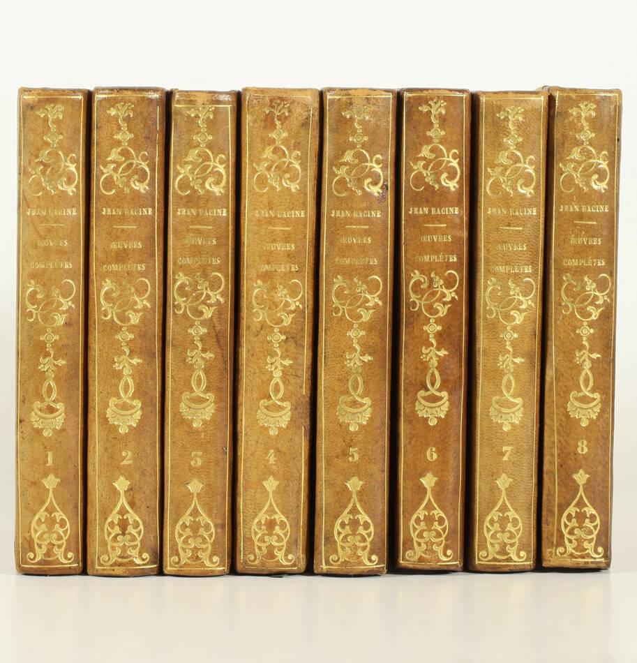 RACINE - Oeuvres complètes  - 1819 - 8 volumes - 26 figures - petits formats - Photo 0, livre rare du XIXe siècle