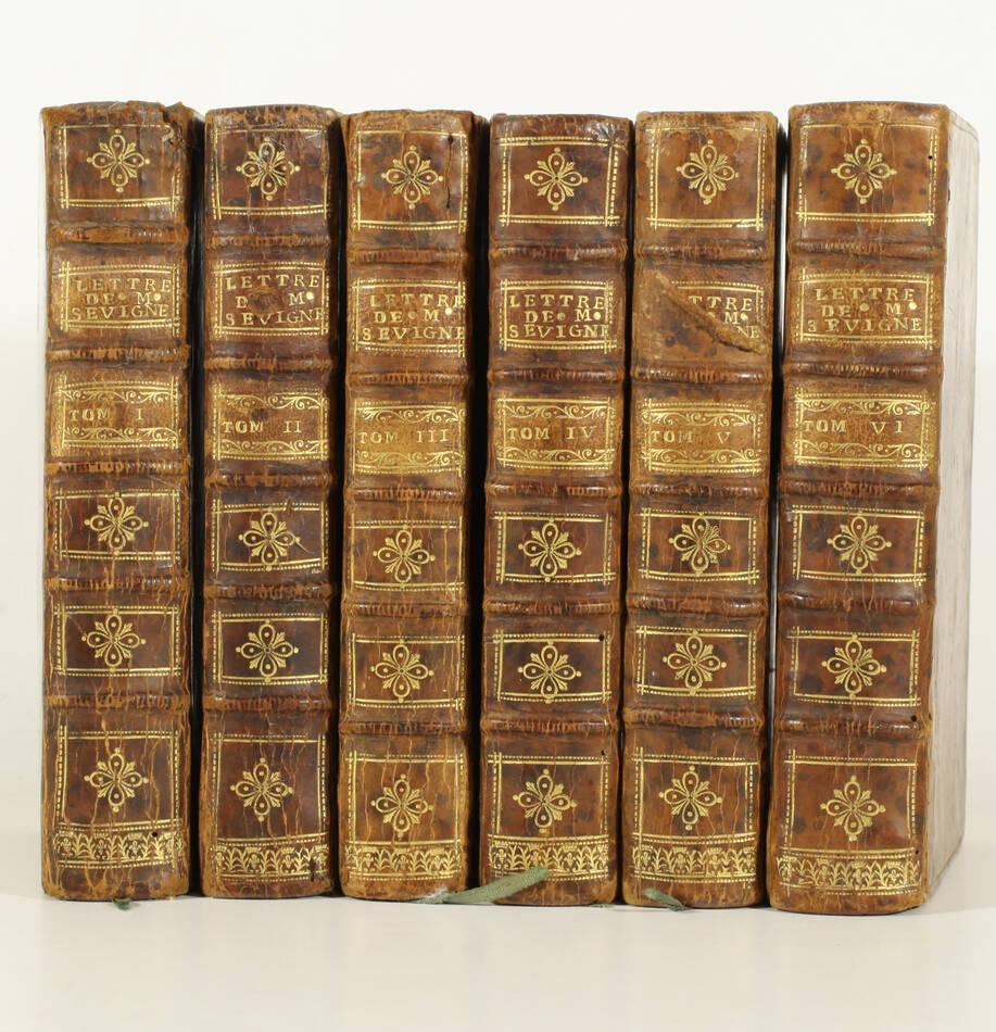 Lettres de madame la marquise de Sévigné 1738-1737 - 6v - EO des 2 derniers vols - Photo 0, livre ancien du XVIIIe siècle