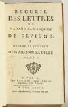 Lettres de madame la marquise de Sévigné 1738-1737 - 6v - EO des 2 derniers vols - Photo 1, livre ancien du XVIIIe siècle