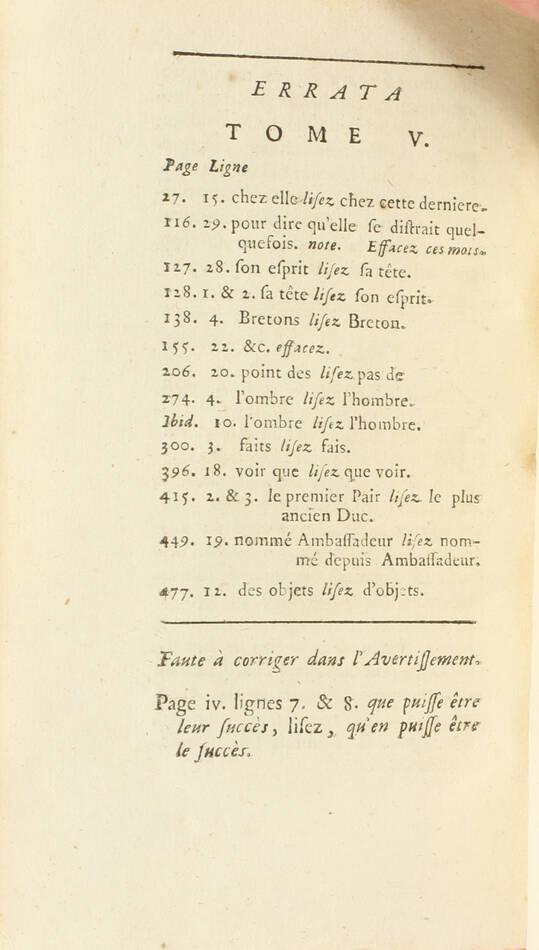 Lettres de madame la marquise de Sévigné 1738-1737 - 6v - EO des 2 derniers vols - Photo 3, livre ancien du XVIIIe siècle