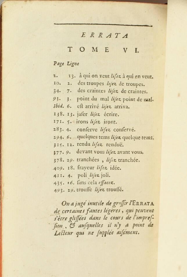 Lettres de madame la marquise de Sévigné 1738-1737 - 6v - EO des 2 derniers vols - Photo 4, livre ancien du XVIIIe siècle