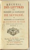 Lettres de madame la marquise de Sévigné 1738-1737 - 6v - EO des 2 derniers vols - Photo 6, livre ancien du XVIIIe siècle