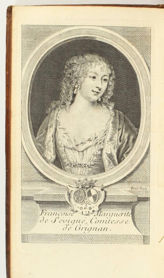 Lettres de madame la marquise de Sévigné 1738-1737 - 6v - EO des 2 derniers vols - Photo 8, livre ancien du XVIIIe siècle