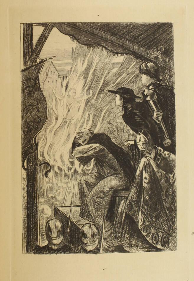 BERGOT - Jeanne d Arc - 1901 - Eaux-fortes de Georges Lavalley - Photo 0, livre rare du XXe siècle