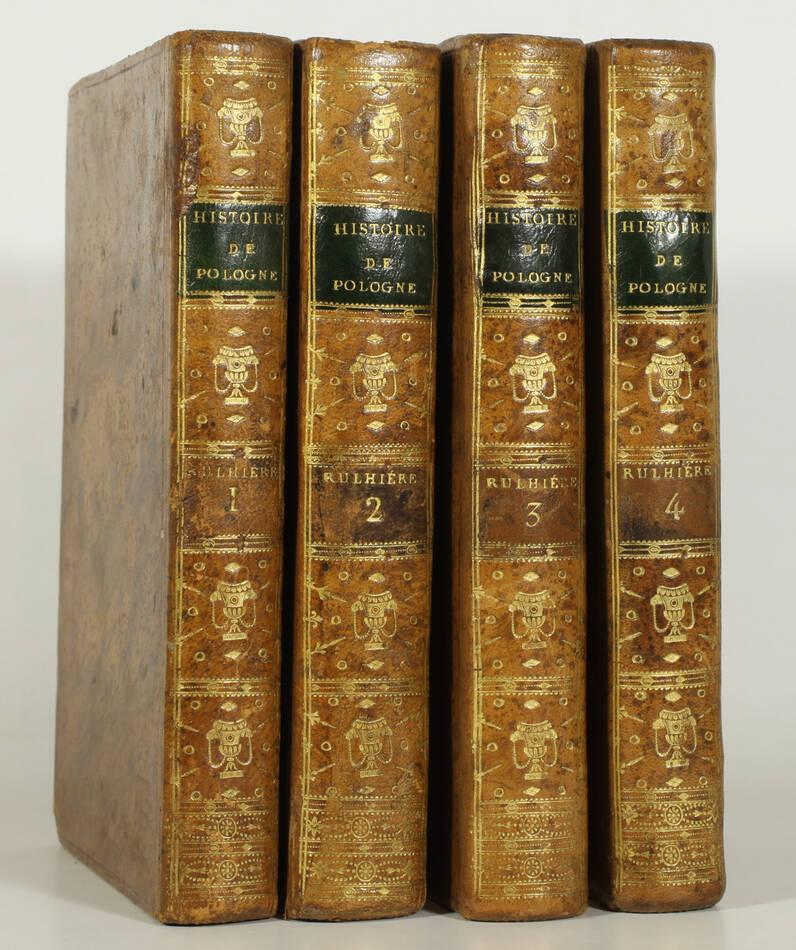 RULHIERE - Histoire de l anarchie de Pologne - 1807 - 4 volumes - EO - Photo 0, livre ancien du XIXe siècle