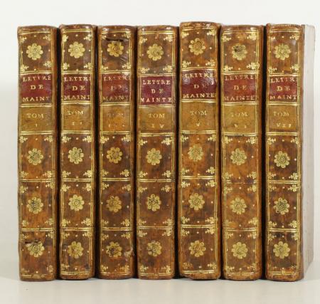 MAINTENON. Lettres de Madame de Maintenon, livre ancien du XVIIIe siècle