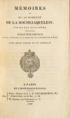 [Vendée] Mémoires de la marquise de la Rochejaquelein - 1822 - Portrait - Cartes - Photo 3, livre rare du XIXe siècle