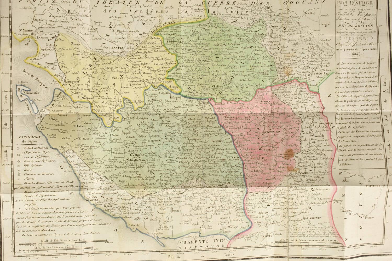 [Vendée] Mémoires de la marquise de la Rochejaquelein - 1822 - Portrait - Cartes - Photo 4, livre rare du XIXe siècle