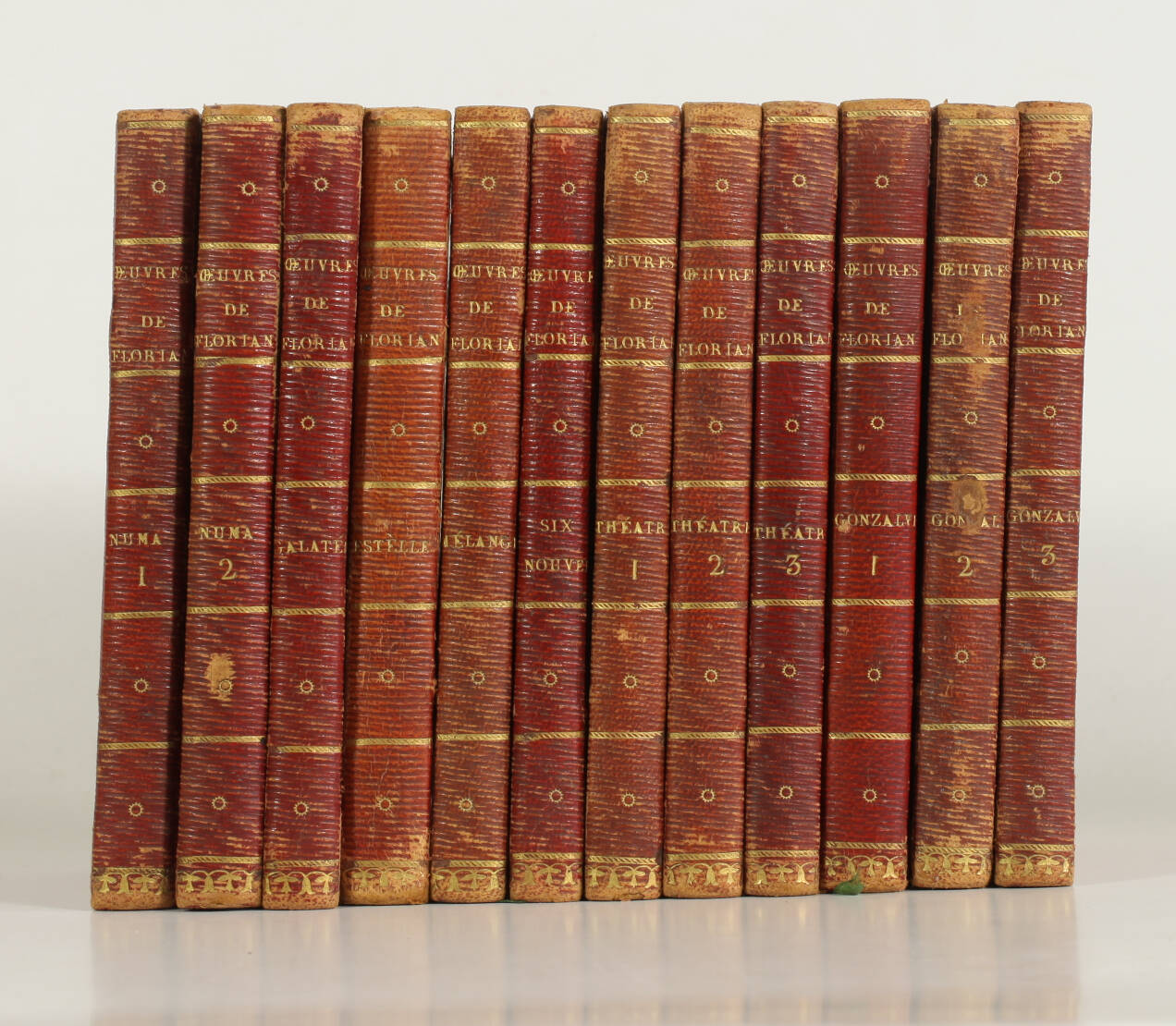 [Petit format] FLORIAN - Oeuvres - An II-III [1794-1795] - 12 volumes in-18 - Photo 0, livre ancien du XVIIIe siècle