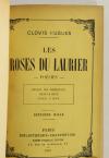 Clovis HUGUES - Les roses du laurier - Poésies - 1903 - Photo 1, livre rare du XXe siècle