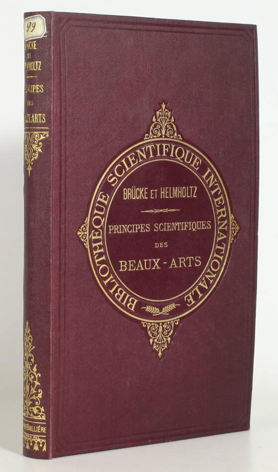 Principes scientifiques des beaux-arts +  Optique et peinture - 1878 - Figures - Photo 0, livre rare du XIXe siècle