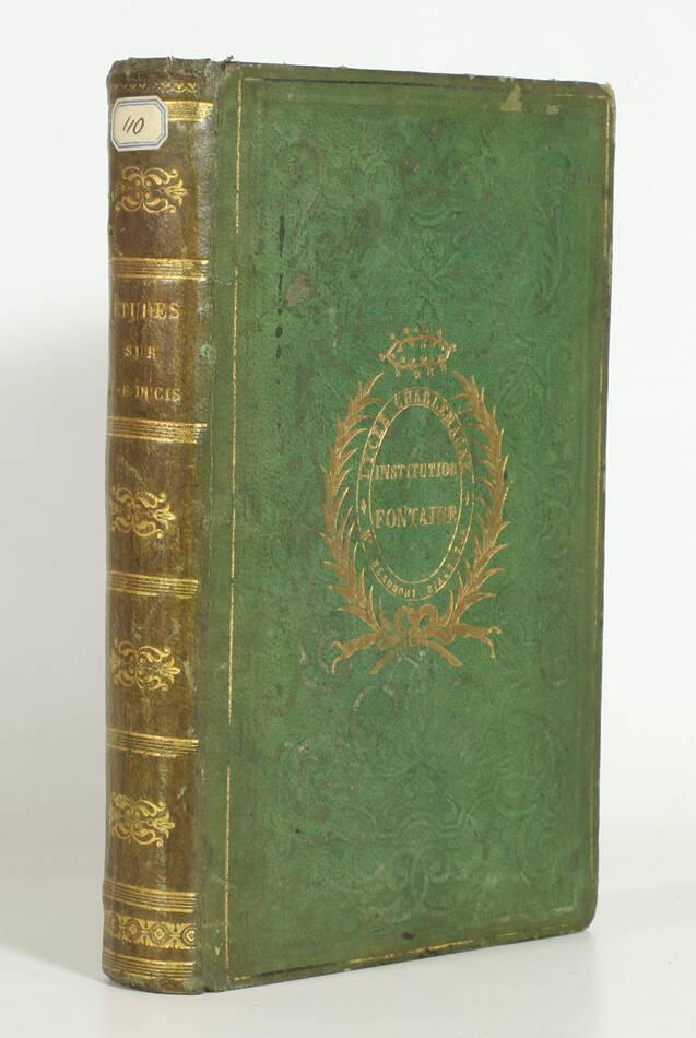 LEROY - Etudes sur la personne et les écrits de J.F. Ducis - 1836 - Photo 0, livre rare du XIXe siècle