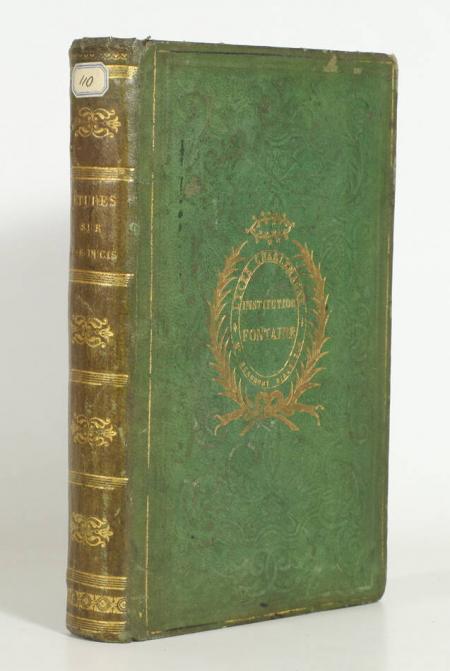 LEROY (Onésime). Etudes sur la personne et les écrits de J.F. Ducis, livre rare du XIXe siècle