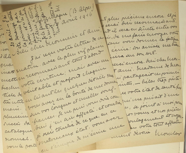 RIPERT-MONCLAR - Comtesse d Albany et le chevalier de Sobirats 1916 - Envoi - Photo 0, livre rare du XXe siècle