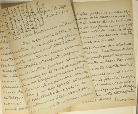 RIPERT-MONCLAR (Marquis de, édité par). Lettres de la comtesse d'Albany au chevalier de Sobirats suivies de quelques pièces inédites ayant rapport à elle, livre rare du XXe siècle