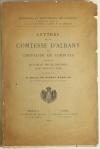 RIPERT-MONCLAR - Comtesse d Albany et le chevalier de Sobirats 1916 - Envoi - Photo 1, livre rare du XXe siècle