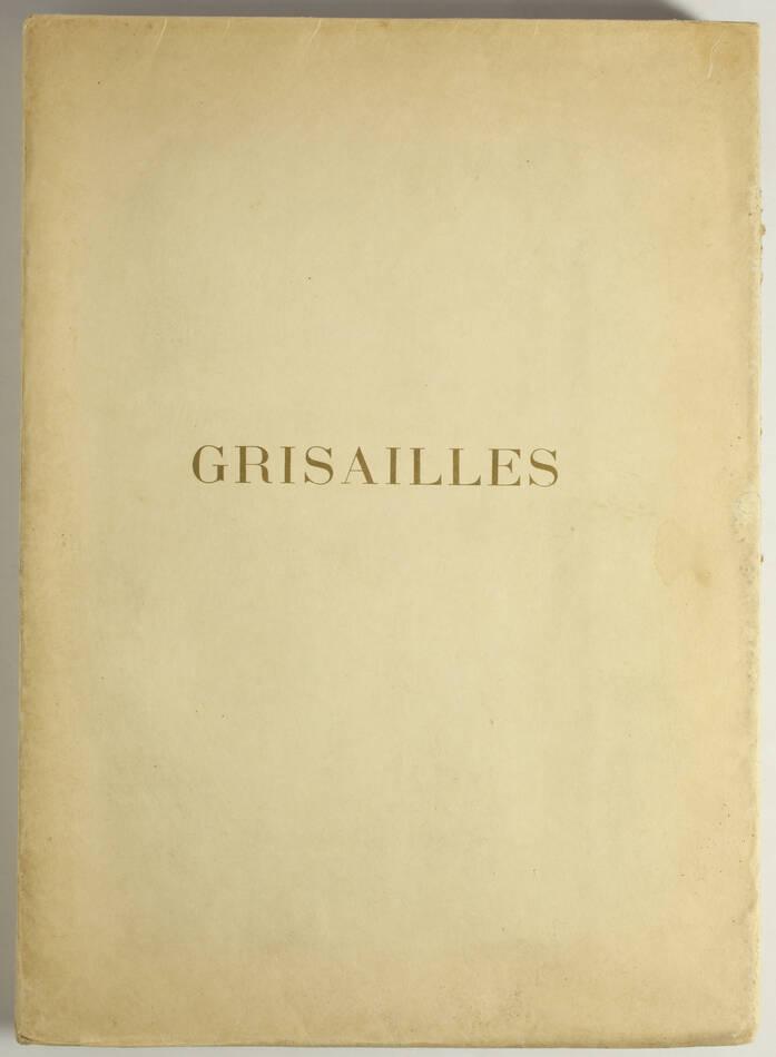 Princesse de la Tour et Taxis - Grisailles - 1907 - Eaux-fortes - Photo 1, livre rare du XXe siècle