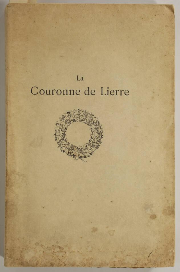 La couronne de lierre - Poésie, musique, prose - 1902 - Mallarmé ... - Photo 1, livre rare du XXe siècle