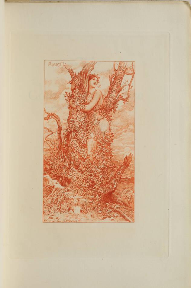 La couronne de lierre - Poésie, musique, prose - 1902 - Mallarmé ... - Photo 2, livre rare du XXe siècle
