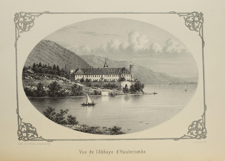 BLANCHARD - Histoire de l abbaye d Hautecombe en Savoie - 1875 - Photo 0, livre rare du XIXe siècle