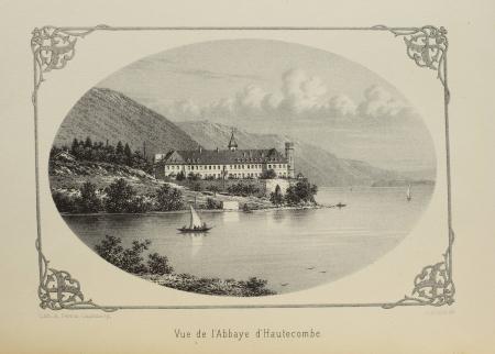 BLANCHARD (Claudius). Histoire de l'abbaye d'Hautecombe en Savoie, livre rare du XIXe siècle
