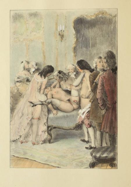 [Curiosa] CLELAND - Mémoires de Fanny Hill - Lisieux - 10 planches par Bécat - Photo 0, livre rare du XXe siècle