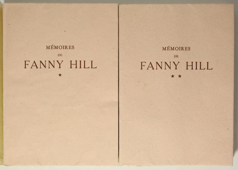 [Curiosa] CLELAND - Mémoires de Fanny Hill - Lisieux - 10 planches par Bécat - Photo 2, livre rare du XXe siècle