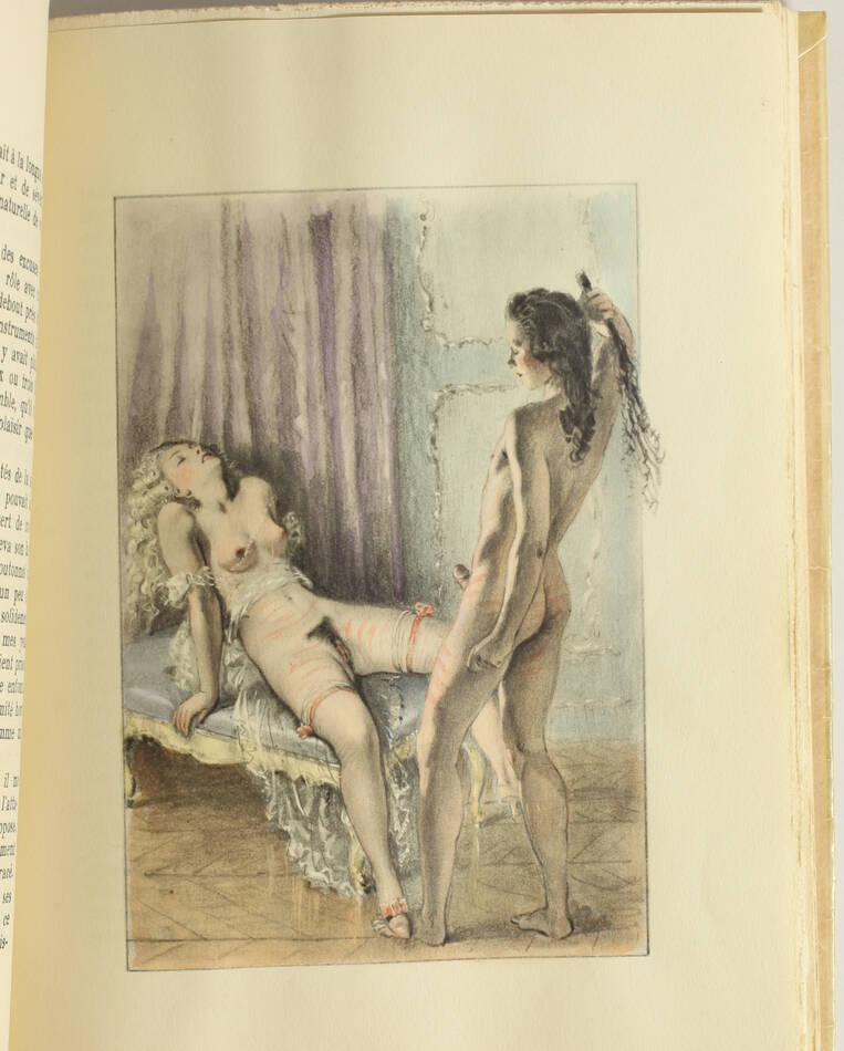 [Curiosa] CLELAND - Mémoires de Fanny Hill - Lisieux - 10 planches par Bécat - Photo 3, livre rare du XXe siècle