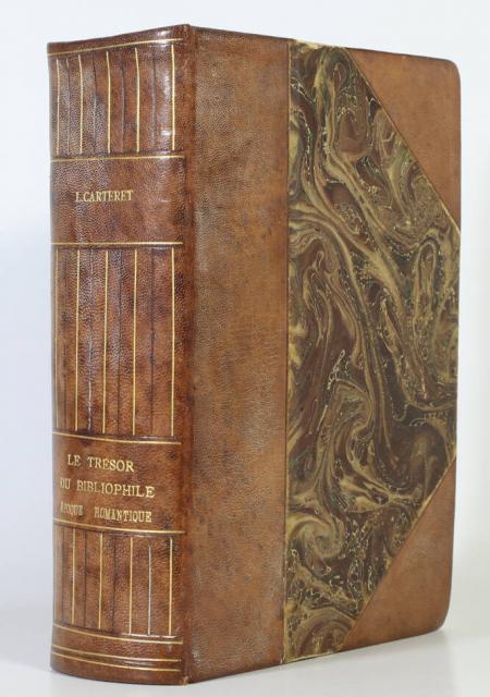 CARTERET (L.). Le trésor du bibliophile. Epoque romantique. 1801-1875. Livres illustrés, livre rare du XXe siècle