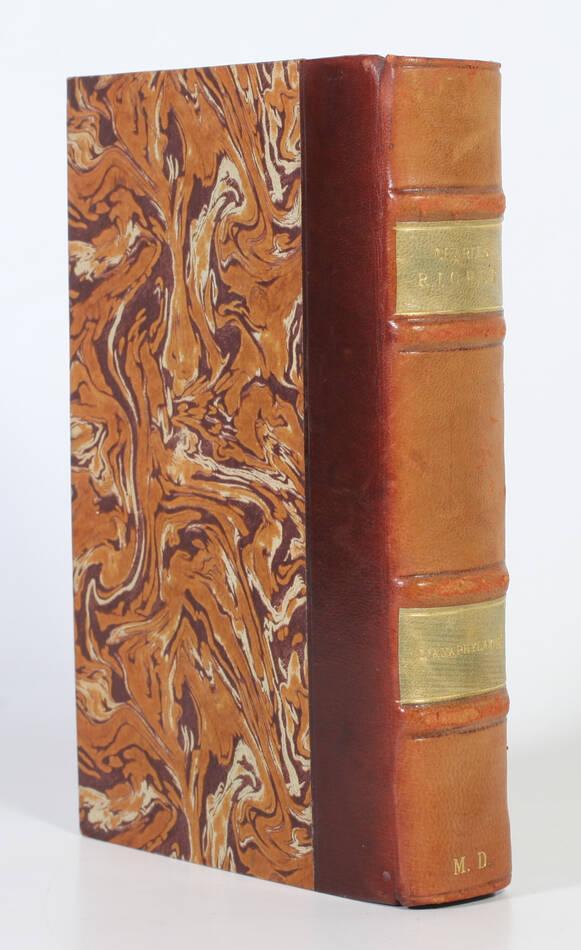 [Médecine] Charles RICHET - L anaphylaxie  - 1923 - Relié - Photo 0, livre rare du XXe siècle