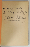 RICHET (Charles). Notre sixième sens. Paris, Editions Montaigne, (1928) [Relié avec :] Essai de psychologie générale. Paris Librairie Félix Alcan, 1919