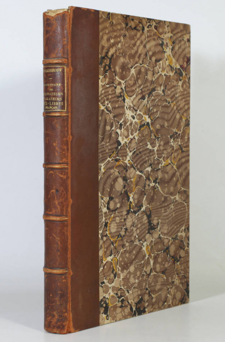 WIGGISHOFF (Jacques-Charles). Dictionnaire des dessinateurs et graveurs d'ex-libris français, livre rare du XXe siècle