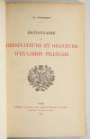 WIGGISHOFF - Dictionnaire des dessinateurs et graveurs d ex-libris français 1915 - Photo 1, livre rare du XXe siècle