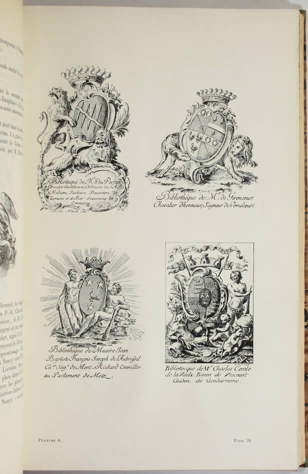 WIGGISHOFF - Dictionnaire des dessinateurs et graveurs d ex-libris français 1915 - Photo 2, livre rare du XXe siècle