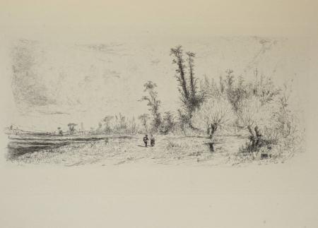 DELTEIL (Loys). Le peintre-graveur illustré (XIXe et XXe siècles). Tome VII. Paul Huet, livre rare du XXe siècle