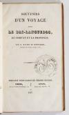 MONT-ROND - Voyage dans le Bas-Languedoc, le Comtat et la Provence - 1837 - Photo 1, livre rare du XIXe siècle