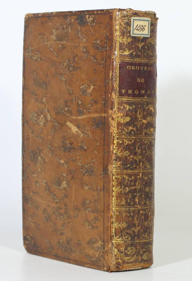 THOMAS - Oeuvres diverses - 1768 + Caractère et esprit des femmes - 1772 - Photo 0, livre ancien du XVIIIe siècle