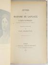 Lettres de Mme de Laplace à Elisa Napoléon, princesse Lucques - 1897 - Relié - Photo 1, livre rare du XIXe siècle