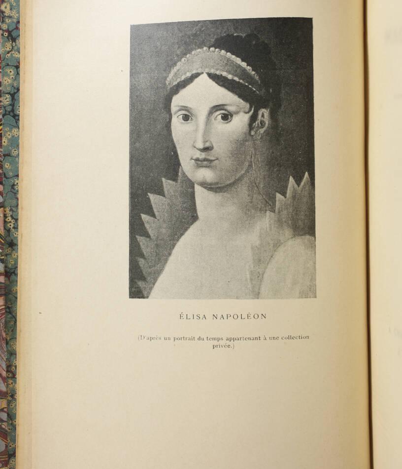 Lettres de Mme de Laplace à Elisa Napoléon, princesse Lucques - 1897 - Relié - Photo 2, livre rare du XIXe siècle