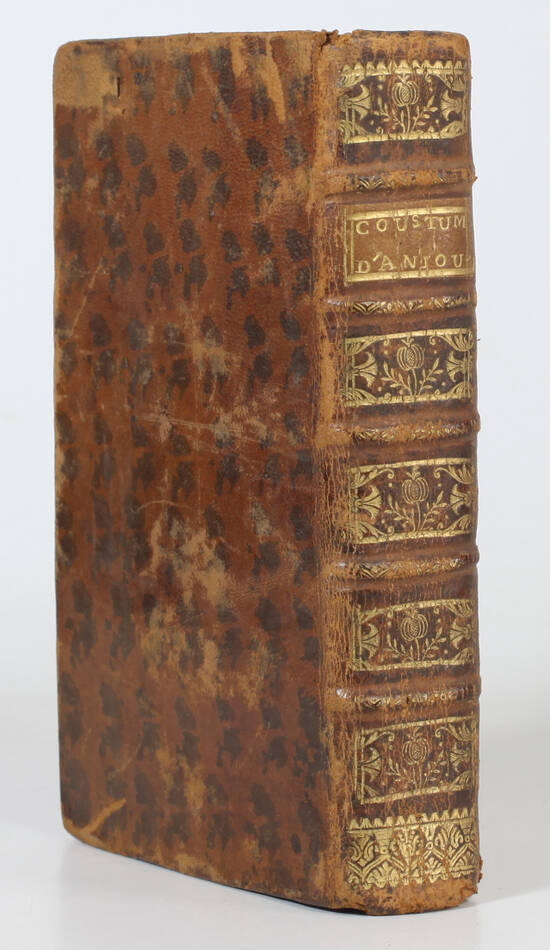 Durson - Coutume du pays et duché d Anjou - Angers, 1751 - Photo 1, livre ancien du XVIIIe siècle